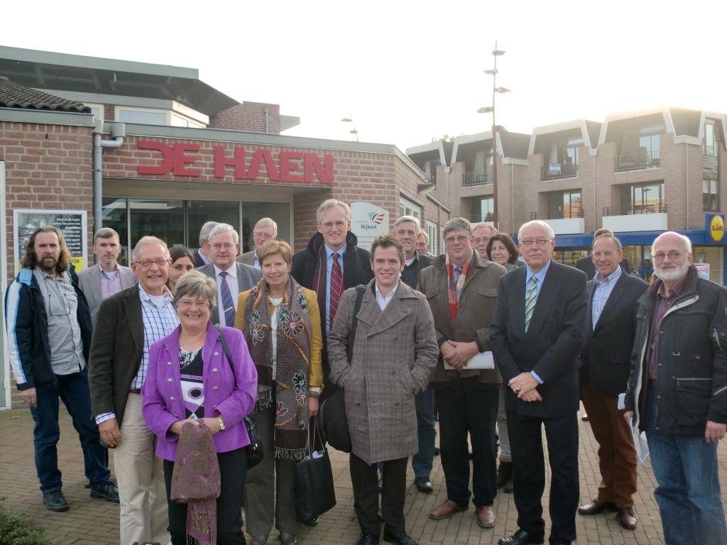 Staten commissie Gelderland op bezoek in Hoevelaken