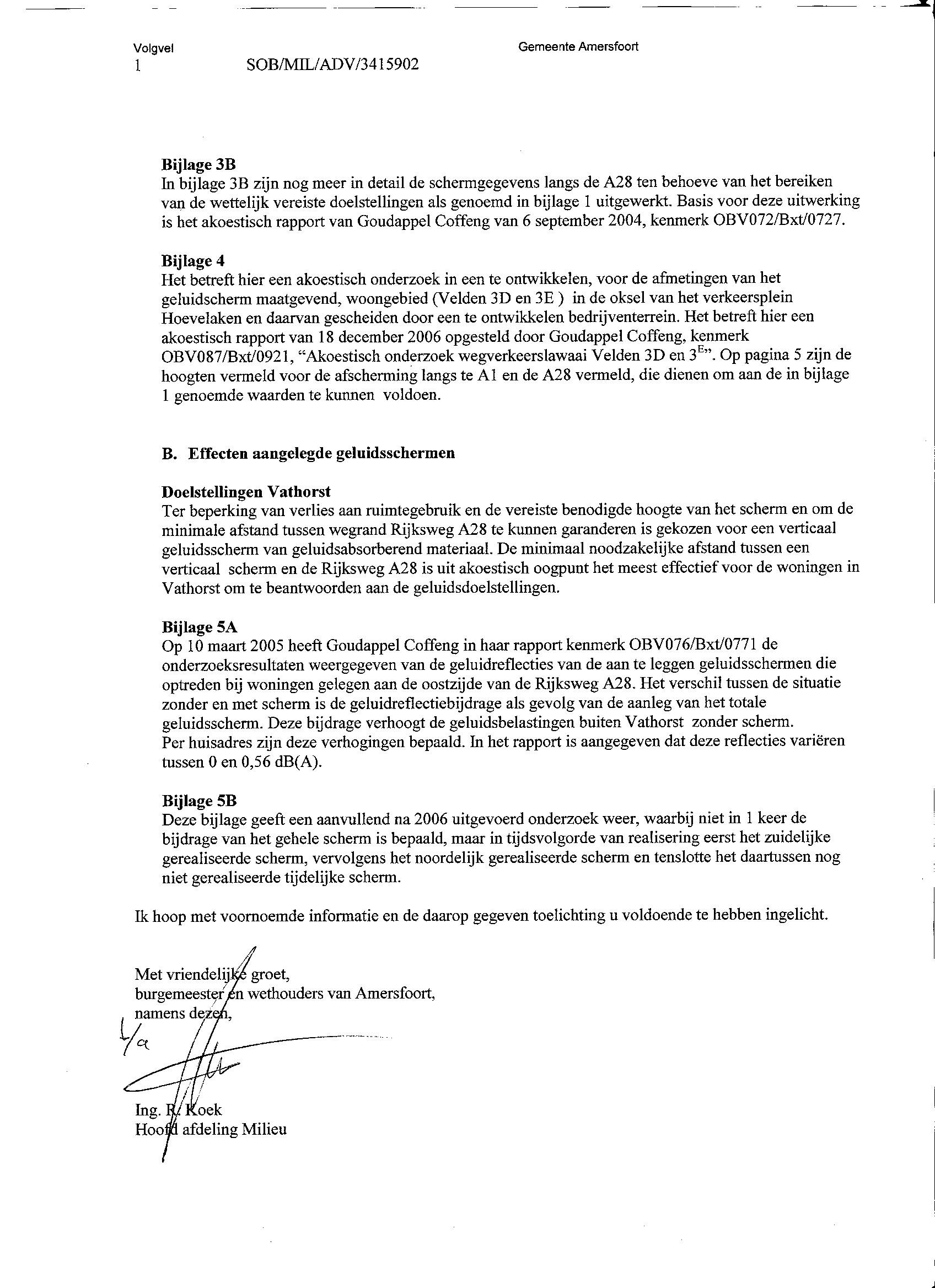 Afsluiting Brief | hetmakershuis